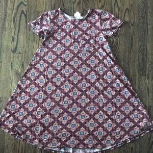 XXS LulaRoe Patterned Dress